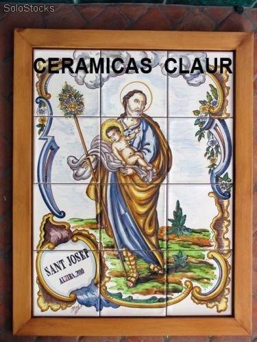 Azulejos de santos San Jose