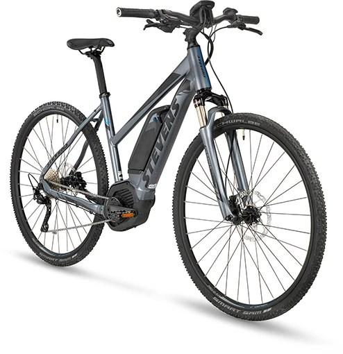 Bicicleta eléctrica stevens e-cross e-6X. Lady