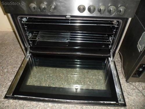 Cocina Semi Industrial 5 Fuegos  Horno Grill Usada