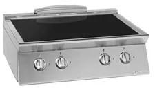 Cocina Vitroceramica Blanca Edesa Roman3V 50x50 3 focos