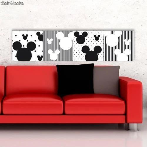 Decorazioni adesive per pareti in gomma