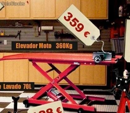 Elevador moto 360kg barato
