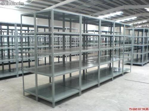 Estanterias metalicas para carga liviana