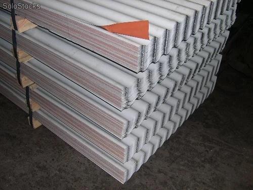 Hierros y chapas onduladas para tejados baratos
