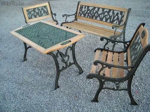 Liquidacion mesas y sillas de jardin saldo