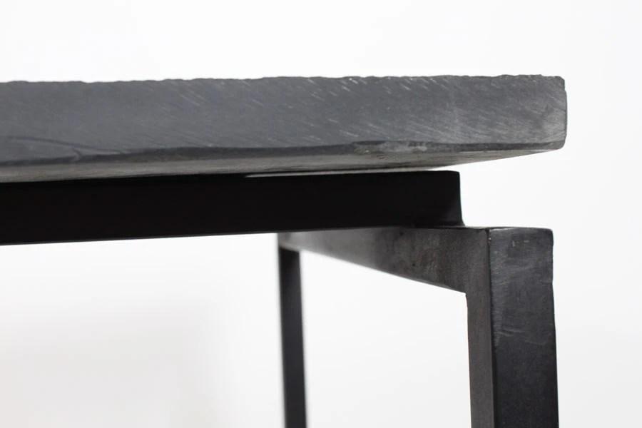 Mesa Mesas de centro industrial vintage con estructura