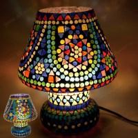 Mesa - multi color mosaik - lampe design mushroom ...