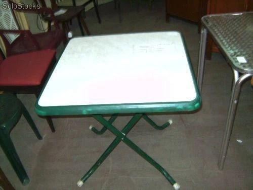 Mesas plegables usadas