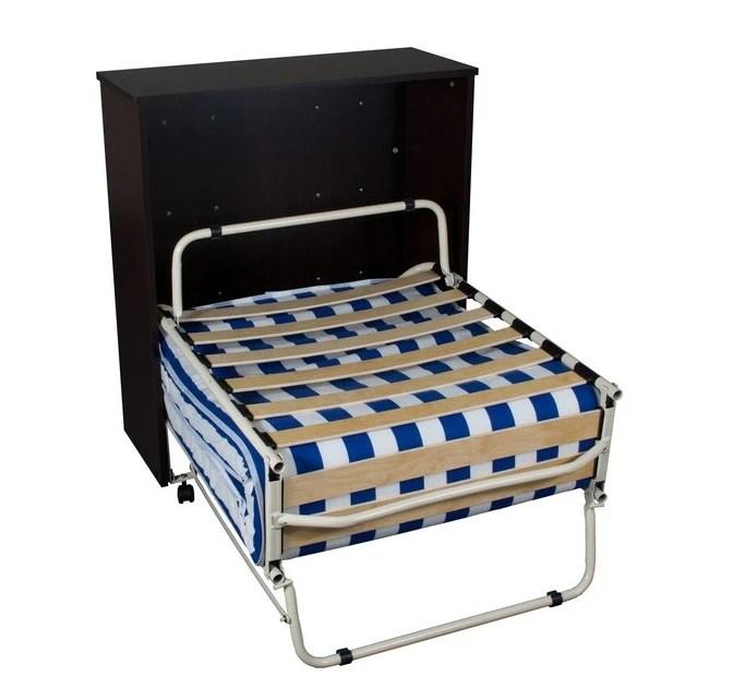 Mobile letto con branda a scomparsa pieghevole