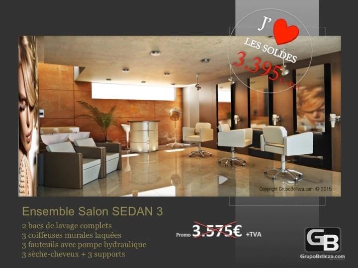 mobilier salon de coiffure salon complet sedan 3 promo 3 395
