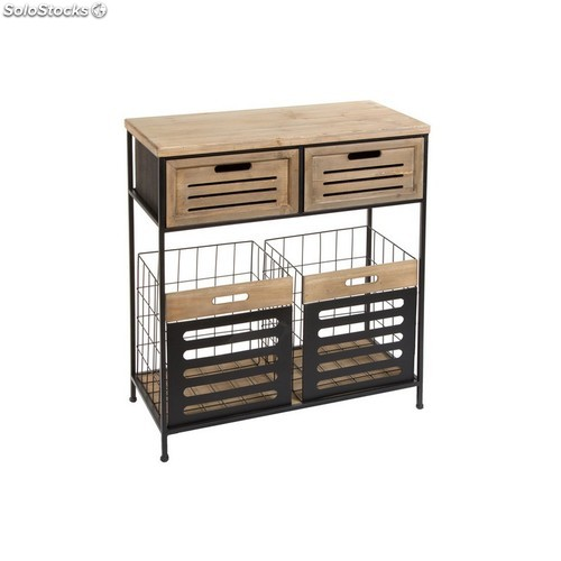 Mueble Auxiliar Cocina con Cajones 35x75x84cm Num440099