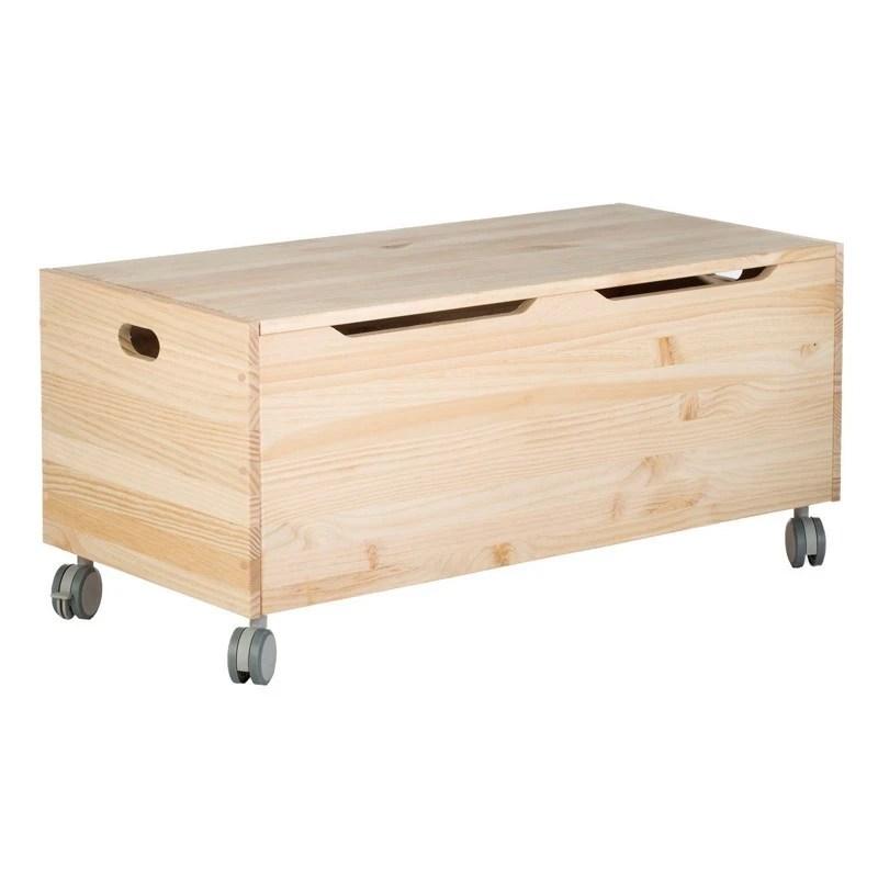 Mueble Baul Pino Macizo Ruedas 40x90x40cm 379480