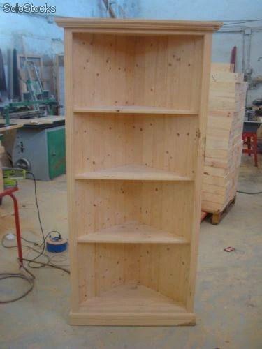 Mueble Rinconera  Esquinera en madera