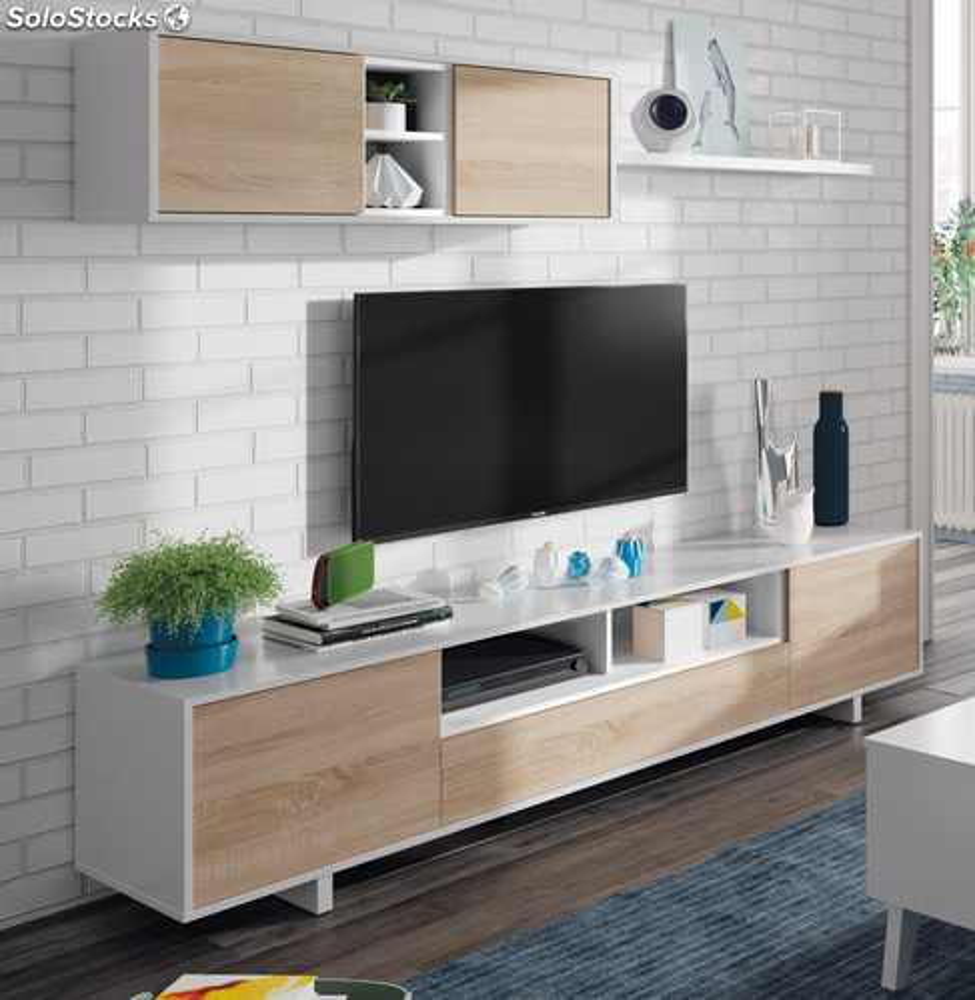 Mueble saln comedor modular diseo nrdico moderno color