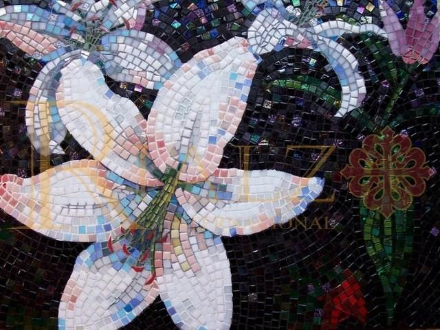 Murales y diseos con mosaico