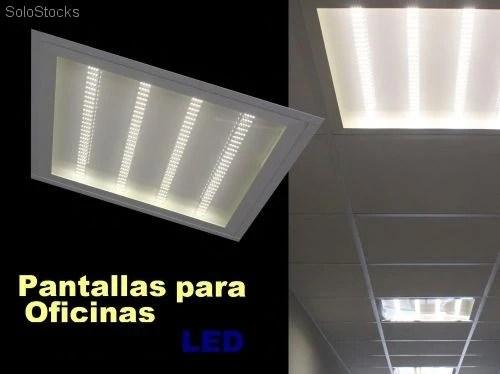 Pantalla LED 32w Lampara para oficinas y comercios