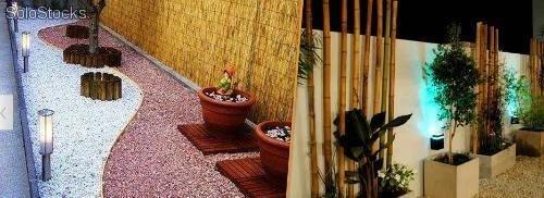 el jardn con piedras casas restauradas rehabilita