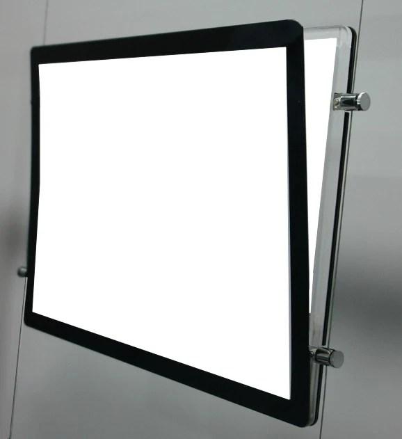 porte affiche lumineux led sur cable tendu 56 photo 2