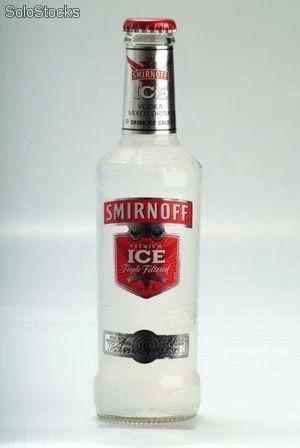 Precio especial en smirnoff ice y wkd pedido minimo 2 pallets
