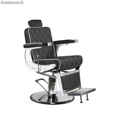Silla barbero md karl color negro transporte gratuito