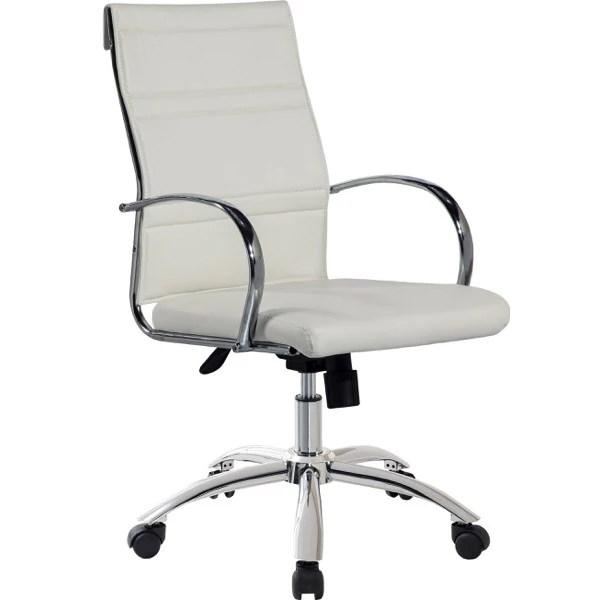 Sillon silla blanca giratoria elevable con ruedas de