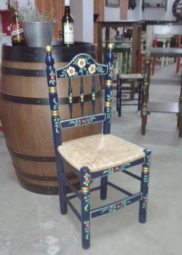 "Set 4 sedie decorate ""operaunica"" Siviglia Sedie Modello Joy Decorata Spagnoli"