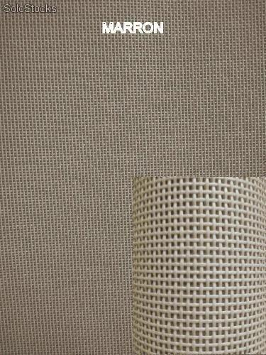 Tela para tumbonas y sillas de exterior Textilene 1x1