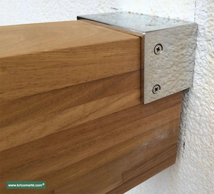 Viga laminada madera de iroko