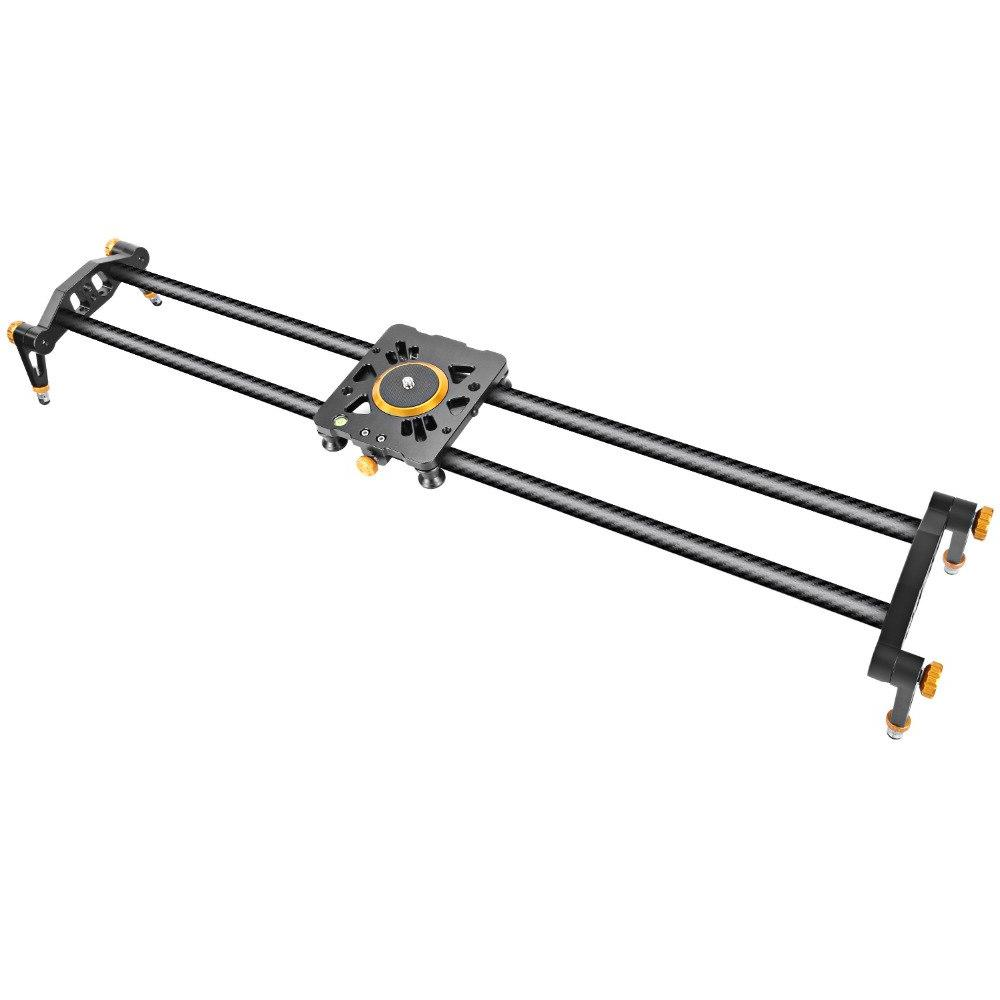 Neewer Carbon Fiber Camera Track Slider Video Stabilizer