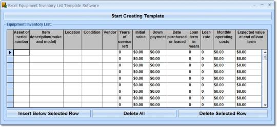 sample excel spreadsheet templates inventory template with