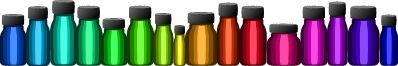 little aromatherapy bottles