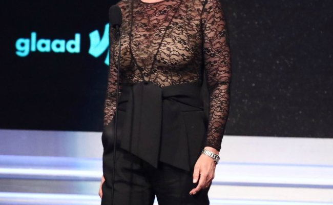 Jamie Lee Curtis Shows Off Curves In Stunning See Through