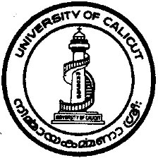 Calicut University Ph.D. Admissions 2018