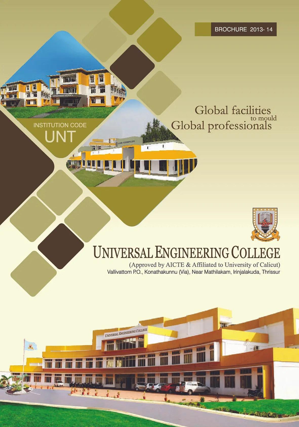 Universal Engineering College UEC Thrissur
