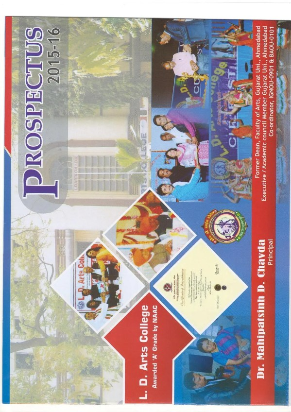 Ld Arts College Ahmedabad - Admissions Contact Website