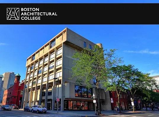 Boston Architectural College Bac Boston Courses Fees Ranking Admission Criteria