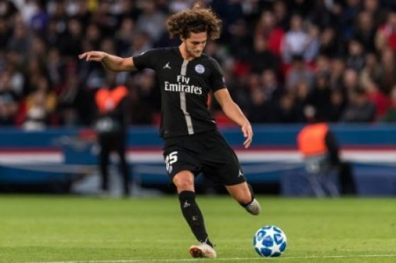 Adrien Rabiot of Paris Saint-Germain during the UEFA Champions League group C match between Paris St Germain and Crvena zvezda at the Parc des Princes on October 03, 2018 in…