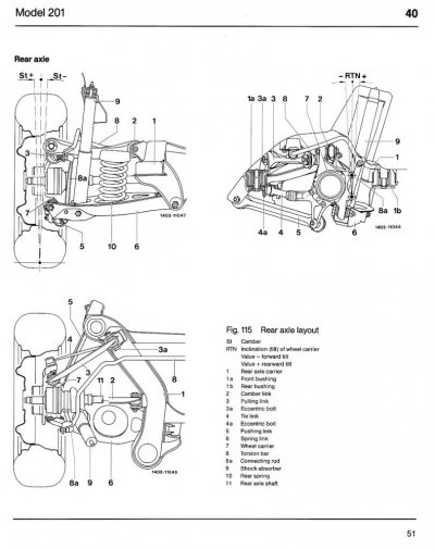 Mercedes w124 chassis diagram
