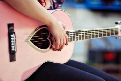 Attitude Girl With Guitar Wallpapers Cool And Stylish Profile Pictures For Facebook For Girls