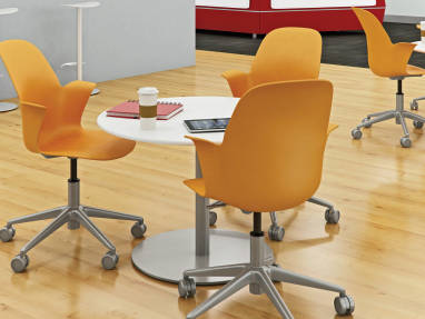 steelcase classroom chairs reclining chair covers node desk furniture versatile seating