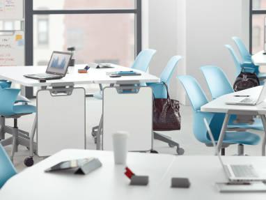 steelcase classroom chairs chair padding foam node desk furniture versatile seating