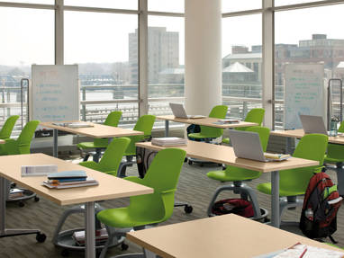 steelcase classroom chairs how to slipcover a chair with arms node for active learning versatile seating