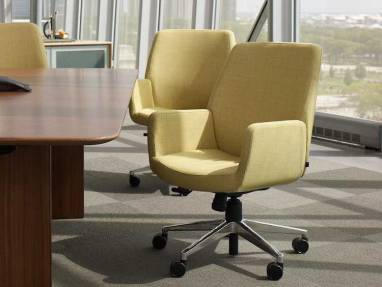 modern aluminum chair recliner chairs for tall people coalesse bindu luxury office & guest - steelcase
