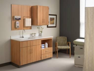 folio medical exam room cabinets