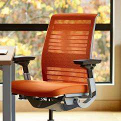Steelcase Amia Chair Brochure Book Stand Think Ergonomic Adjustable Office
