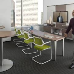 Conference Tables And Chairs Wood Folding Table Convene Meeting Room Steelcase Siento Chair