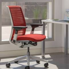 Steelcase Jersey Chair Review Ebay Accent Chairs Think Ergonomic Adjustable Office