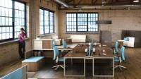 Turnstone Tour Bench Collaborative Office Tables - Steelcase