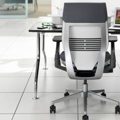 Steelcase Gesture Chair Baby Bath Swivel Ergonomic Office Desk