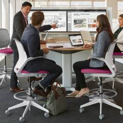Serie 142 Chair Kiosk Design Walmart Metal Chairs Media Scape Meeting Conference Technology Steelcase Collaboration